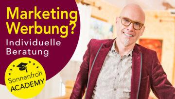Individuelle Beratung Marketing & Werbung - Sonnenfroh Werbeagentur