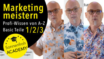 Marketing meistern - Basic Teile 1 - 2 - 3