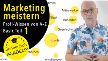 Marketing meistern in Werbung, Design, Online & Werbung! Kurs Grundlagen 1
